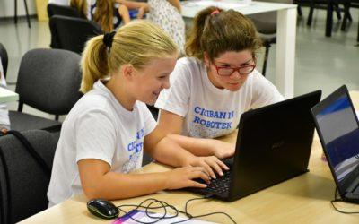 Zaključili smo četrti termin letošnjih delavnic Ciciban in robotek v Podbrezniku