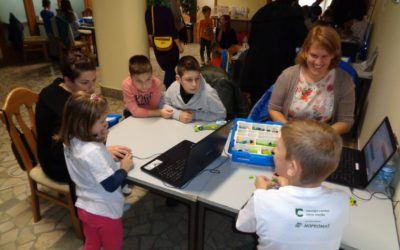 Dan otroške robotike nad vsemi pričakovanji