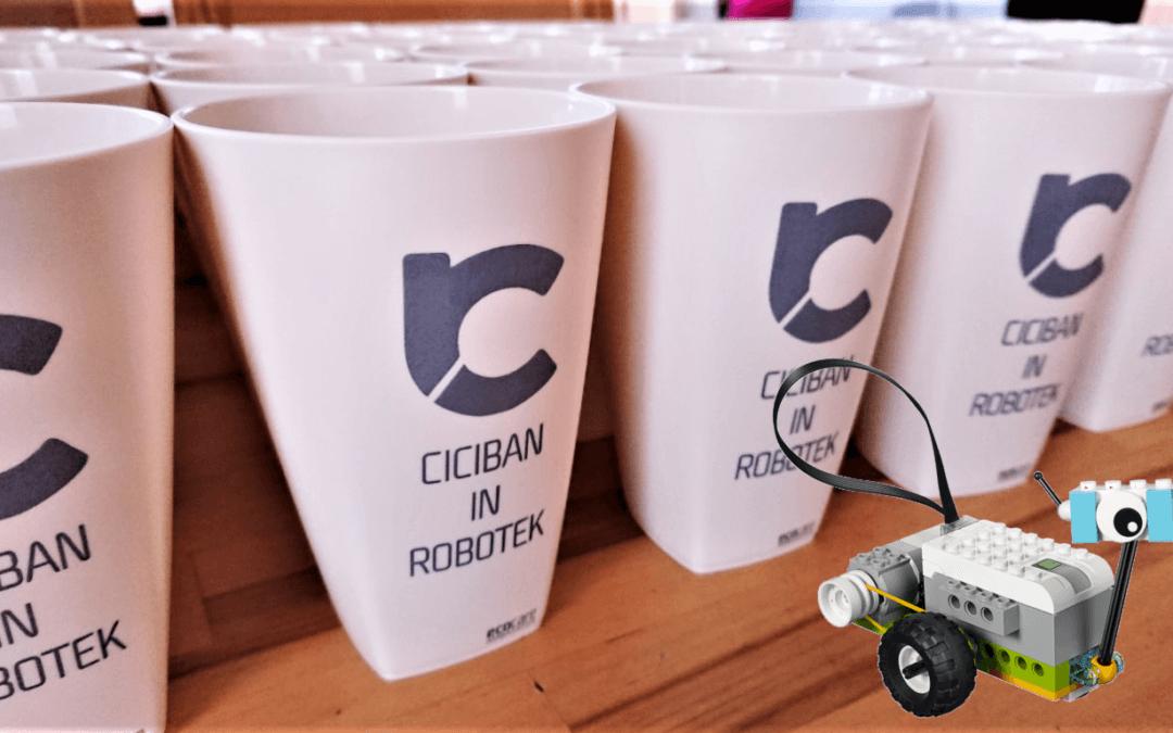 """Prijave na poletne delavnice """"Ciciban in robotek"""" so odprte"""