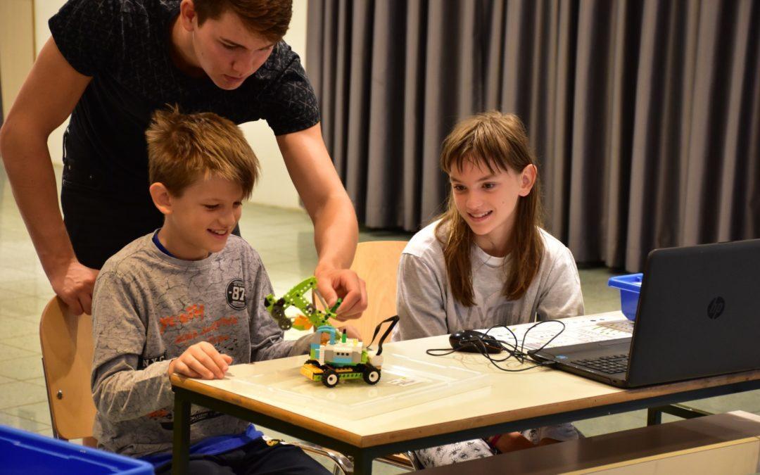 Poletne delavnice 2021 Ciciban in robotek smo zaključili v Trebnjem